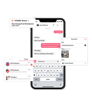 Chat and group chats